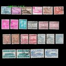 23Pcs Bangladesh Bengal Used Old Vintage Postage Stamps For Collection Asia Original