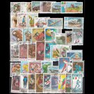 500Pcs World Wide Used and Unsed Postage Stamps For Collection