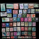 100Pcs Estampillas De Correo Postage Stamps With Post Mark In Good Condition For Collection