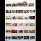300Pcs American USA All Different Used Postage Stamps Off Paper In Good Condition For Collecting