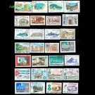 50Pcs Topic Buildings Castle Postage Stamps With Post Mark For Collecting Gift From World Wide