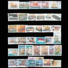 50Pcs Sailboat Boat Unused Postage Stamps with post Mark, Good Condition Collection Stamp, No Repeat