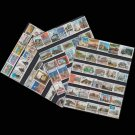 100Pcs Building All Different Unused Postage Stamps With Post Mark For Colleciton