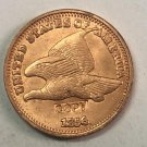 """1856 United States """"Fly Eagle One Cent"""" Copy Coin"""