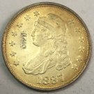 "1837	United States 25 Cents ""Liberty Capped Bust Quarter Dollar"" Copy Coin"