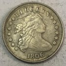 "1806 United States 25 Cents ""Liberty Draped Bust Quarter Dollar"" Copy Coin"
