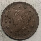 1825 United States Braided Hair Large One Cent Copy Coin