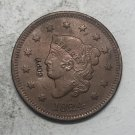 1824 United States Braided Hair Large One Cent Copy Coin