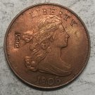 1806 United States Draped Bust Large One Cent Exact Copy Coin