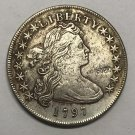 1797 United States Draped Bust One Dollar Plain Eagle Exact Copy Coin