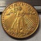1929 United States Saint Gaudens $20 Twenty Dollars Gold Copy Coin