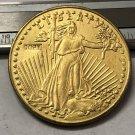 1915 United States Saint Gaudens $20 Twenty Dollars Gold Copy Coin