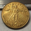 1914 United States Saint Gaudens $20 Twenty Dollars Gold Copy Coin