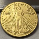 1913 United States Saint Gaudens $20 Twenty Dollars Gold Copy Coin