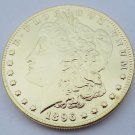 1896 United States Morgan One Dollar Gold Plated Copy Coin