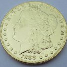 1888 United States Morgan One Dollar Gold Plated Copy Coin