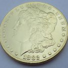 1882-CC United States Morgan One Dollar Gold Plated Copy Coin