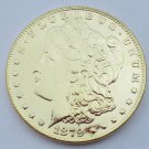 1879-CC United States Morgan One Dollar Gold Plated Copy Coin
