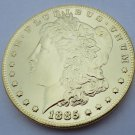 1885-CC United States Morgan One Dollar Gold Plated Copy Coin