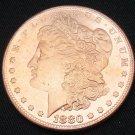 1880-O United States Morgan One Dollar Copper Copy Coin