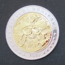 1878-CC United States Hobo Nickel Skull Morgan Dollar Gold And Silver Plated Copy Coin