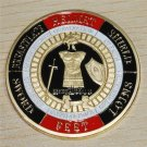 Armor of God Pray Always Military Challenge Coin