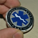 Paramedic Medical Rescue / EMT Emergency Services Star of Life Challenge Coin