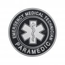3D EMT Emergency Medical PVC Patch Star of Life Military Morale Patch