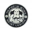 3D PVC Warrior Patch Soldier Military US Army Morale Tactical Emblem Badges