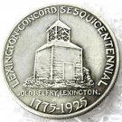 1925 U.S. Lexington Concord Commemorative Patriot Half Dollar Copy Coins