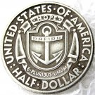 US 1936 S Rhode Island Silver Plated Commemorative Half Dollar Copy Coins  For Collection