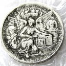 USA 1937 Texas Independence Commemorative Half Dollar Copy Coins  For Collection