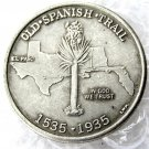USA 1935 Old Spanish Trail Commemorative Half Dollar Copy Coins  For Collection