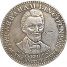 USA 1865 Abraham Lincoln Commemorative Dollar Copy Coins  For Collection