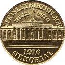 USA 1916 McKinley Memorial Commemorative Gold Dollar Copy Coins  For Collection