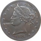 1876 United States One Dollar Copy Coins