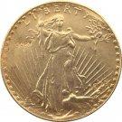 1925-D United States Saint Gaudens $20 Twenty Dollars Gold Copy Coin
