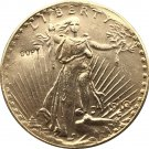 US 1910-S Saint Gaudens $20 Twenty Dollars Gold Copy Coin  For Collection