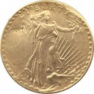 US 1914-S Saint Gaudens $20 Twenty Dollars Gold Copy Coin  For Collection