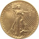 US 1931-D Saint Gaudens $20 Twenty Dollars Gold Copy Coin  For Collection