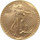 US 1911-D Saint Gaudens $20 Twenty Dollars Gold Copy Coin  For Collection