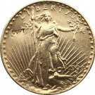 US 1909-D Saint Gaudens $20 Twenty Dollars Gold Copy Coin  For Collection