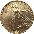 US 1908-S Saint Gaudens $20 Twenty Dollars Gold Copy Coin  For Collection