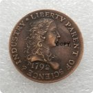USA 1792 Birch Large Cent Gallery Mint Copy Coin  For Collection