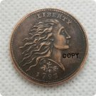 USA 1793 Strawberry Leaf Cent Copy Coin  For Collection