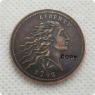 USA 1793 Wreath Leaf Cent Copy Coin  For Collection