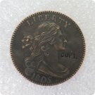 US 1805 Draped Bust Large Cent Copy Coin  For Collection