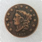 US 1830 Coronet Head Large Cent Copy Coin  For Collection