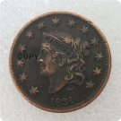 US 1831 Coronet Head Large Cent Copy Coin  For Collection