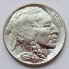 US 1915 Indian Head 5C Buffalo Nickel Five Cents Copy Coin  For Collection